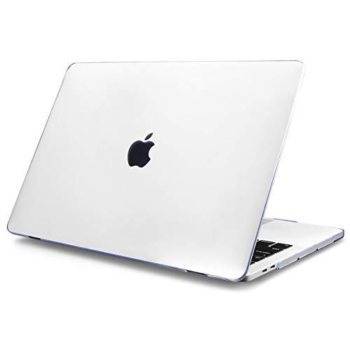 Batianda MacBook Pro Retina 15 Hülle 2012-2015 Freisetzung A1398 Plastik Hartschale Tasche Schutzhülle Snap Case für MacBook Pro 13.3 Zoll,Transparent Klar - 15 Macbook Pro Klar Case Das Retina