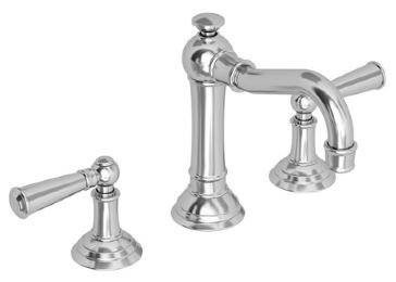 Jacobean Widespread Bathroom Faucet with Double Lever Handles Finish: Oil Rubbed Bronze by Newport