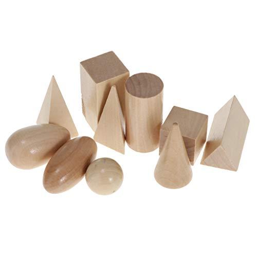 Juguetes Juegos Educativos Sensoriales Geometría Madera Niños