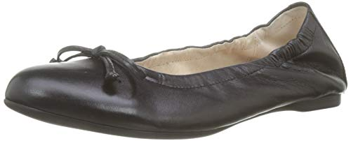 Gabor Shoes Damen Casual Geschlossene Ballerinas, Schwarz 27, 39 EU Schwarz Frauen Leder