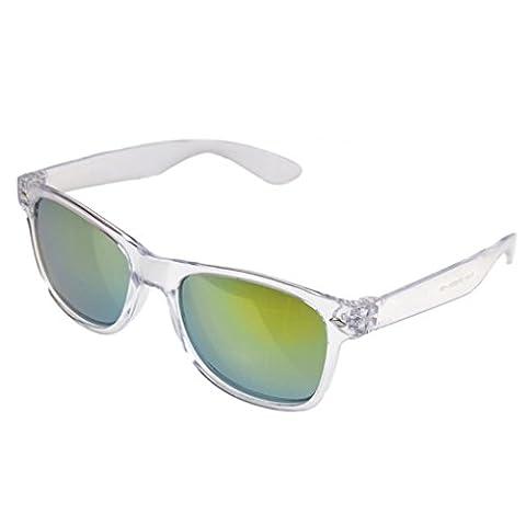 LUFA Shades Cosplay Sunglasses Glasses Stylish Goggles ClearFrame&Gold