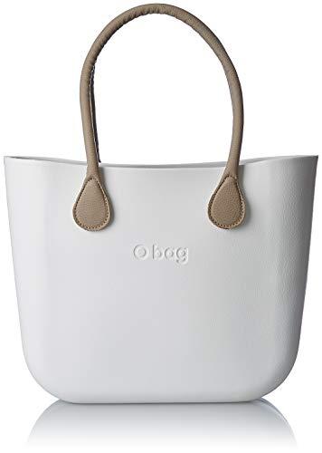 OBAG Mujer Bolso de mano Blanco Size  14x31x39 cm (W x H x L 78eaf7d3a14