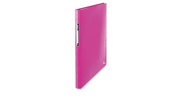 Elba 400078515 Art Prot/ège-documents couverture rigide 160 vues polypropyl/ène opaque A4 Rose