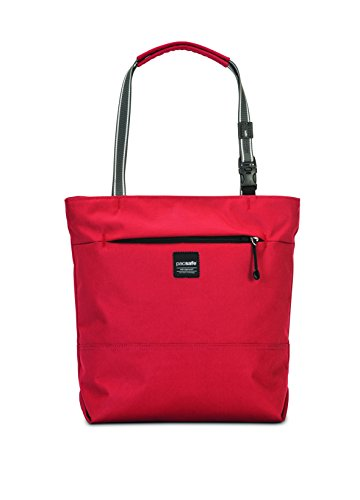 Pacsafe Slingsafe LX200 Diebstahlschutz Compact Tote, chili (rot) - 688334025748 chili