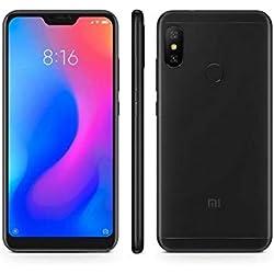 """Xiaomi Mi A2 Lite - Smartphone Dual SIM de 5.84"""" (Octa-Core 2.0 GHz, RAM de 4 GB, memoria de 64 GB, cámara dual de 12+5 MP, Android) color negro [versión española]"""