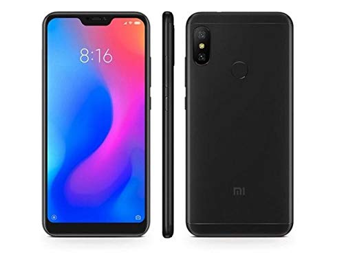 "Xiaomi Mi A2 Lite - Smartphone Dual SIM 5.84"" (Octa-Core 2.0 GHz, RAM 4 GB, memory 64 GB, GBal chamber 12+5 MP, Android) Color black [Spanish version]"