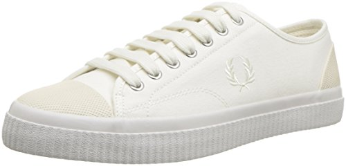 Fred Perry Hugues Canvas Swow White B3280303, Turnschuhe - 43 EU -