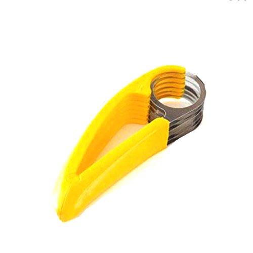 Creative Banana Slicer Chopper Fruit Cutter Concombre Pepper aux légumes Salade Cuisine Outils pratiques
