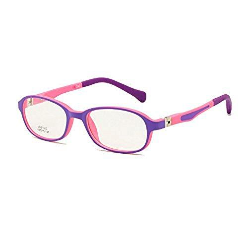Kinder Brillengestell TR90 Größe 44-15 Safe biegsam mit Federscharnier Flexible optische Jungen...