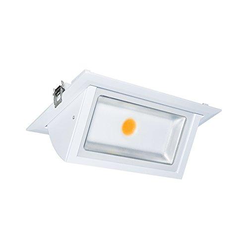 Vision-EL 776912foco LED rectangular inclinable 4000° K, aluminio/vidrio + PC, 40W, color...