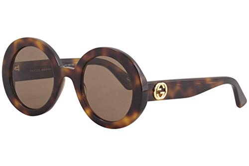 Gucci Sonnenbrillen GG0319S HAVANA/BROWN Damenbrillen