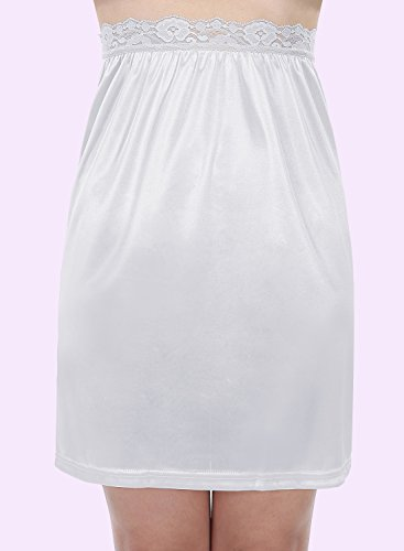 Timormode Unterrock Rock im Kleid Petticoat BrautjungfernKleid Röckchen Weiß-A