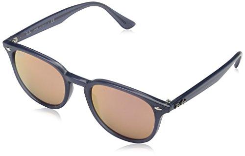 Ray Ban Unisex Sonnenbrille RB4259, Mehrfarbig (Gestell: Opal Dark Azure,Gläser: pink/Kupfer 62321T), Medium (Herstellergröße: 51)