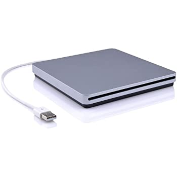 [Upgrated Version]Blingco Slot externe dans CD-RW DVD-RW Drive Ultra Slim Player Burner Writer