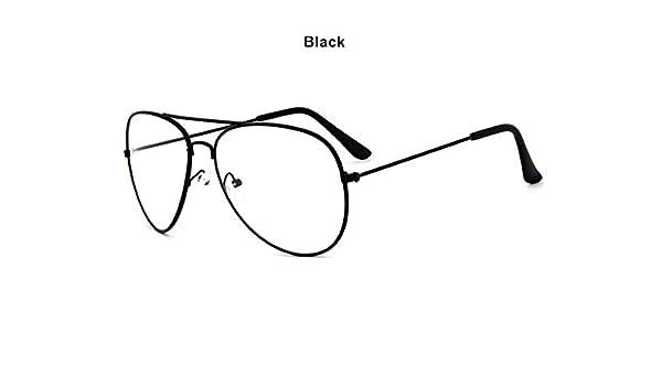 BuyWorld Classic Pilot Sunglasses Frames Optics Eyeglasses Transpat Lens  Clear Glasses Women Men Optical Alloy Metal Eye Glasses Frame  Amazon.in   Home   ... c15c522ce7f
