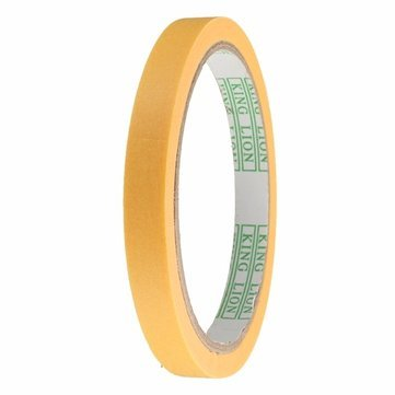 Generic 20mm Masking Tape Model with Paint Spray Refill High Temperature Painting Coating, 6, 10, 12, 18, 50mm (D2521-1)