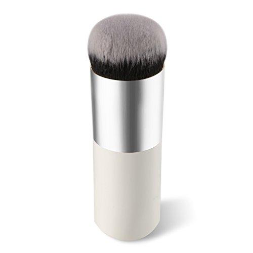 Cosanter pennello professionale per make up,ideale per fondotinta,fard e cipria,forma grande e rotonda Pennelli per viso
