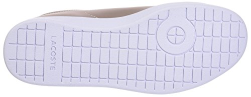 Lacoste Carnaby Evo 118 7 Spw, Baskets Donna Beige (nat / Wht)