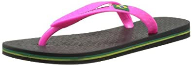 Ipanema Classic II, Women's Flip Flops, Black (20753/black/pink), 3 UK (35/36 EU)