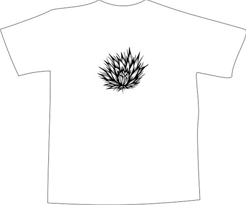 T-Shirt E347 Schönes T-Shirt mit farbigem Brustaufdruck - Logo / Grafik ...