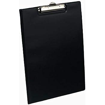 A4 Dokumentenmappe Klemmmappe Klemmmappe 1 starker Clip schwarz 2 St/ück
