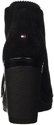 Tommy Hilfiger I1285mara 7b, Scarpe con Tacco Donna Nero (Black (990))