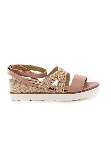 MARIA MARE Donna Lomba Sandali con cinturino alla caviglia beige Size: 40 EU