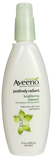 Active Naturals Positively Radiant Cleanser Aveeno 6.7 oz Cleanser For Unisex (Reiniger) -
