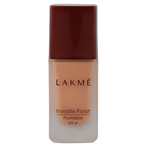 Lakme Invisible Finish SPF 8 Foundation, Shade 01, 25 ml