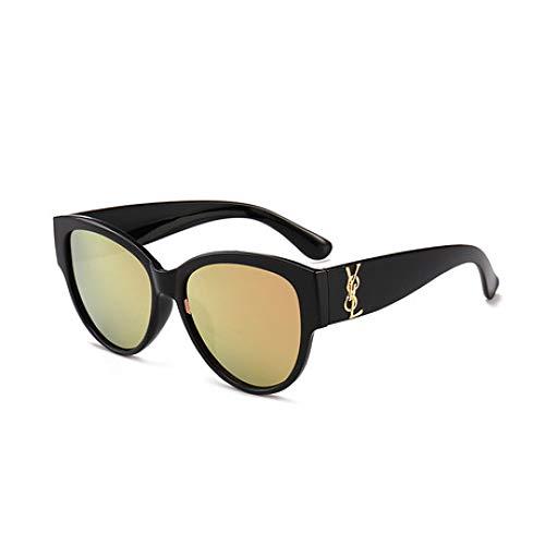 SPFAZJ Sonnenbrille 2019 Neue Runde Sonnenbrille Stern Mit Der Gleichen Sonnenbrille Mode Bunte Multicolor Brille Weiblich