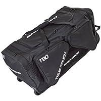 SHER-WOOD - Eishockeytasche T 90 True Touch mit Rollen I Tasche für Hockeyschläger I Hockey Bag aus Nylon I Transporttasche für Eishockeyausrüstung inkl. Tragegurte I geeignet für Eishockeyschläger