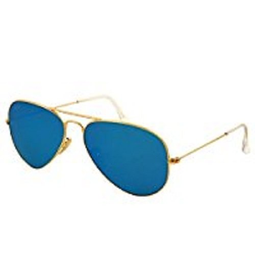 Ray Ban 0RB3025 - Gafas de sol Large Metal, 112/19: Oro mate - 55 mm