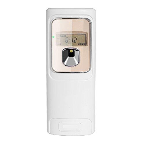 LCD automático aerosol de perfume dispensador montado en pared hogar fragancia
