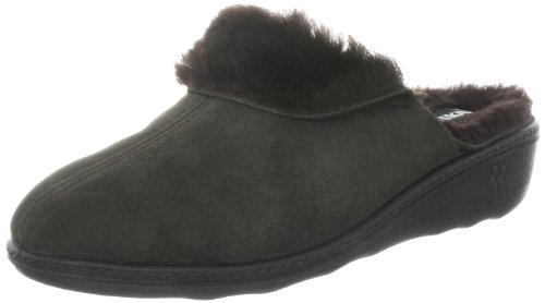 Romika Romilastic 306, Chaussons Mules Doublé Chaud Femme Marron (Mocca 304)