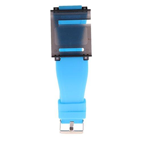 kokiya Aluminium Armband Uhrenarmband Handgelenk Abdeckung Für IPod Nano 6 6. Gen. - Blau 3 Ipod Nano 3. Generation Armband