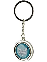 027a63ee991 aminco NCAA Charlotte Hornets NBA-SK-741-33 Spinning Keychain