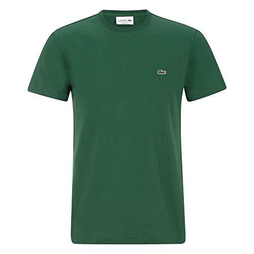 Lacoste TH2038 Herren T-Shirt Rundhals,Männer Basic Tshirt,Tee,Regular Fit,Green(132),X-Small (2)