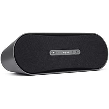 Creative D100 Portable Bluetooth Wireless Speaker with Aux-in - Black