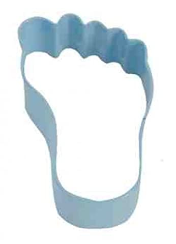 Light Blue Baby Foot Cookie Cutter (Divertimento Cookie Cutters)