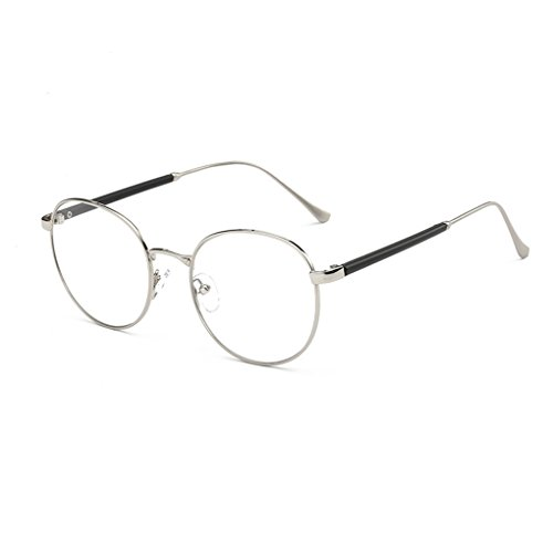 Junecat Mode Brillen-Rahmen Vintage transparente Gläser Retro Plain Objektiv Optischer