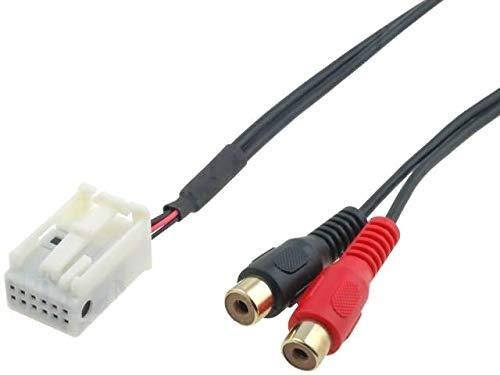 Cable Autoradio Adaptateur RCA pour Citroen ap04 - ADNAuto