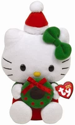 Ty Beanie Babies Hello Kitty With Wreath by Ty Ty Ty B017A36V2A a01931
