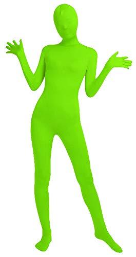 Icegrey Zentai Lycra Spandex Kostüm Bodysuits Ganzkörperanzug Leuchtendes Grün - Lycra Spandex Bodysuit Kostüm