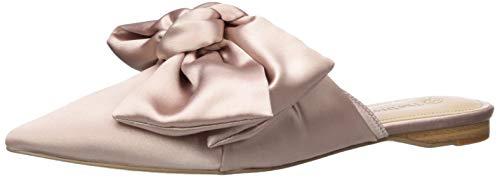 The Drop Essen Zapatos destalonados de punta y con lazo, rosa empolvado, 6.5 US 37 EU