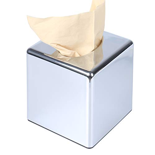 Kosmetiktücher-Box,quadratischen Kosmetikboxen-Spender, Quadrat Taschentuchhalter...