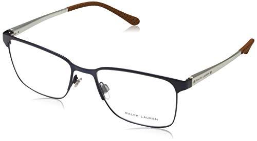 Ralph Lauren 0RL5101 Herren Brillengestelle, Blau (Matte Navy Blue), 55
