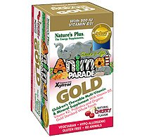 Animal Parade Gold Childrens Chewable Multi-Vitamin & Mineral