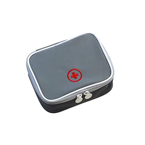 CaCaCook Pillendose, multifunktional, tragbar, wasserdicht, für Medikamente, mehrlagig, Erste-Hilfe-Tasche