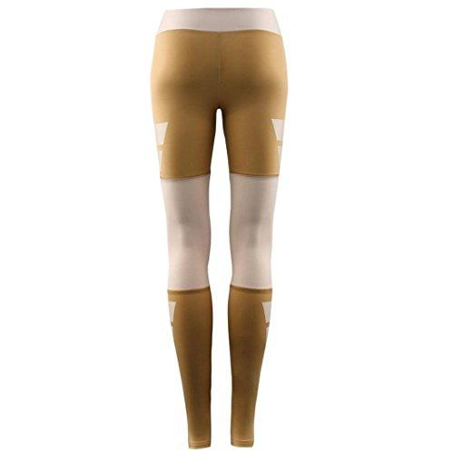 Vovotrade® Femmes Imprimé Sports Gym Skinny Fitness Pantalon Stretch Yoga Leggings Mode Café