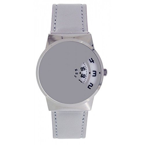 softech-mens-designer-grey-pu-leather-strap-jump-hour-disc-time-display-watch-analog-quartz-hook-buc